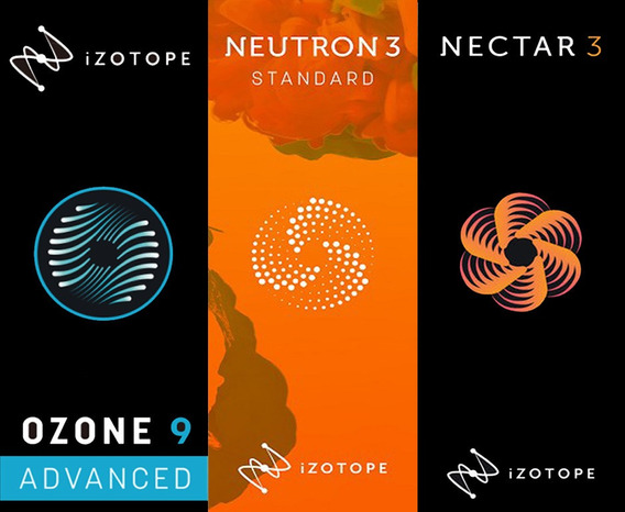 Izotope Ozone 9.1 / Nectar 3.1 / Neutron 3 - Versão 2020