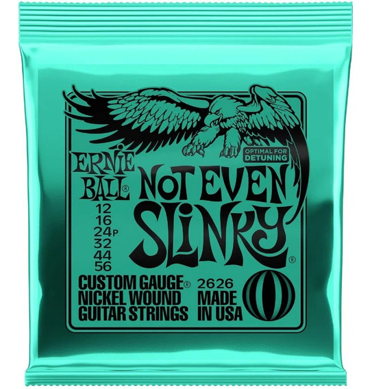 Encordoamento Guitarra Ernie Ball 012/056 2626 Not Even