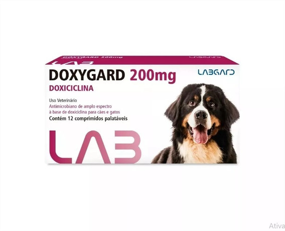 Doxygard ( Doxiciclina) 200mg Blister C/ 12 Comprimidos