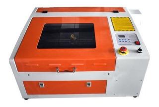 Máquina Cnc Router Laser Corte E Gravação 40x30cm 220v