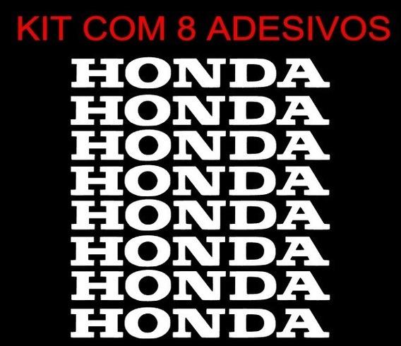 Kit Adesivos Honda Rodas Liga Leve - Varias Cores