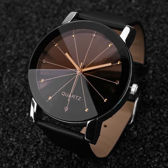Relógio Feminino Quartz Masculino De Luxo