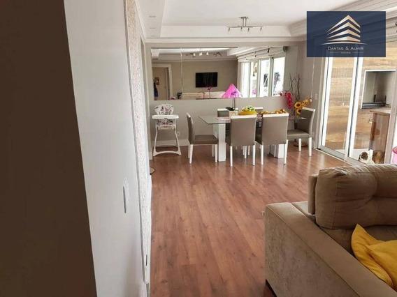 Apartamento No Condomínio Solon, Vila Rosália, 3 Dormitórios, 1 Suíte, 2 Vagas. - Ap0541