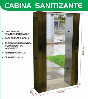 Cabina Sanitizante Tunel De Desinfeccion Peatonal / Empresas