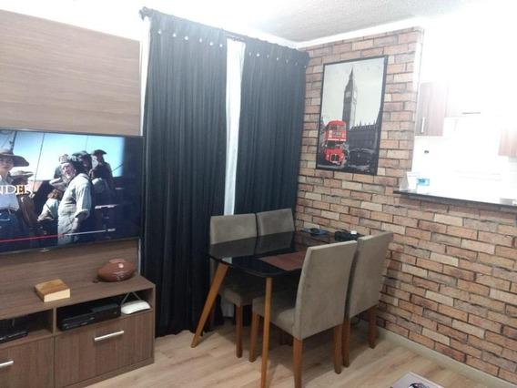 Apartamento Com 2 Dormitórios À Venda, 41 M² Por R$ 210.000,00 - Vila Alzira - Guarulhos/sp - Ap6455