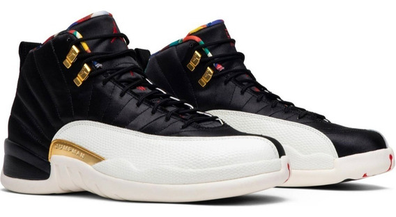Tenis Air Jordan 12 Retro Cny Ci2977-006 Original Env Gra