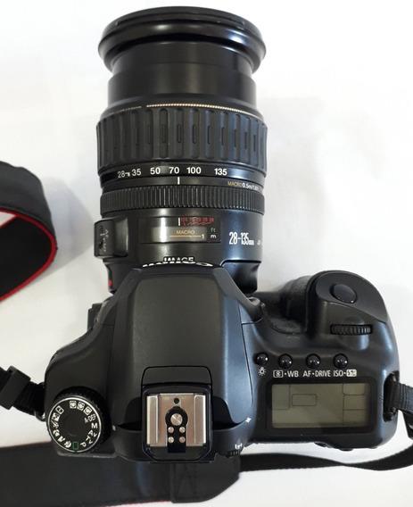 Câmera Canon 40d C/ Lente 28-135mm, Cartão + Grip Equipada