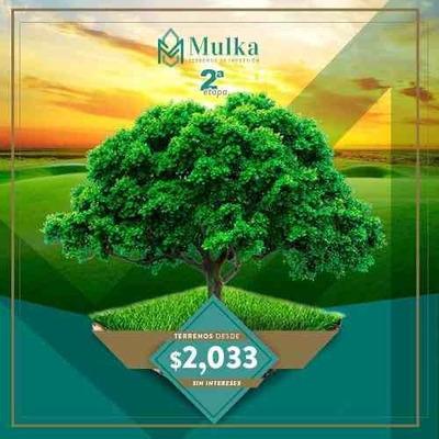 Mulka, Lotes De Inversión En Hunucmá Zona Próxima De Parque Industrial