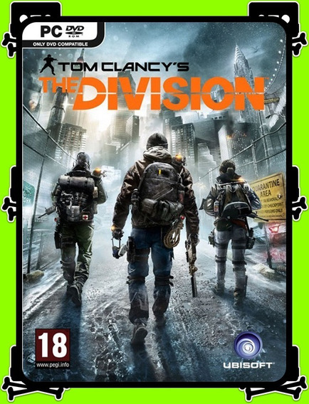 Tom Clancys The Division Pc - 100% Original (uplay Key)