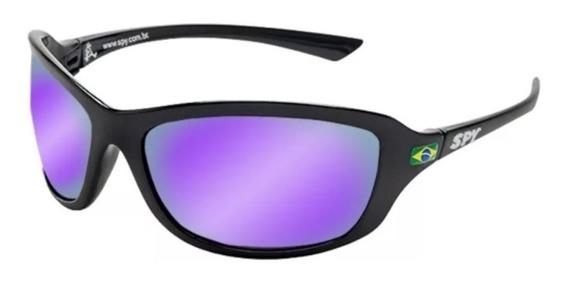 Óculos De Sol Spy Original - Modelo Link 44 Preto Lente Ruby