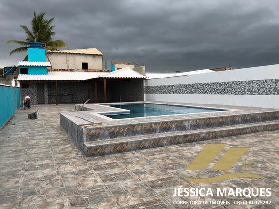 Casa De 3 Quartos Com Piscina Em Unamar, Cabo Frio