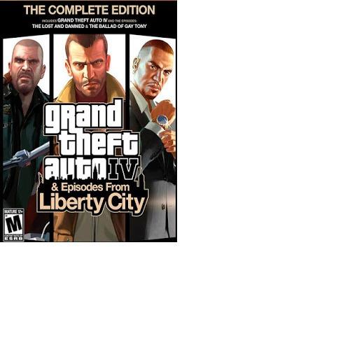 Grand Theft Auto Iv: Complete Edition-pc-dvd-(midia Fisica)