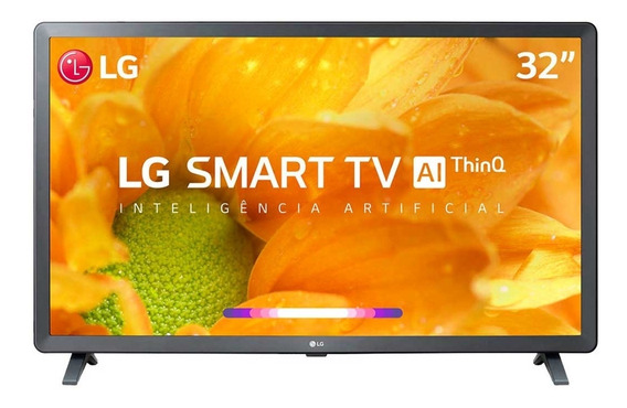 Smart Tv LG 32 Hd Hdr Inteligência Artificial 32lm625bpsb