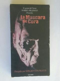 La Mascara De Cera - Dario Argento - Vhs Original - Germanes