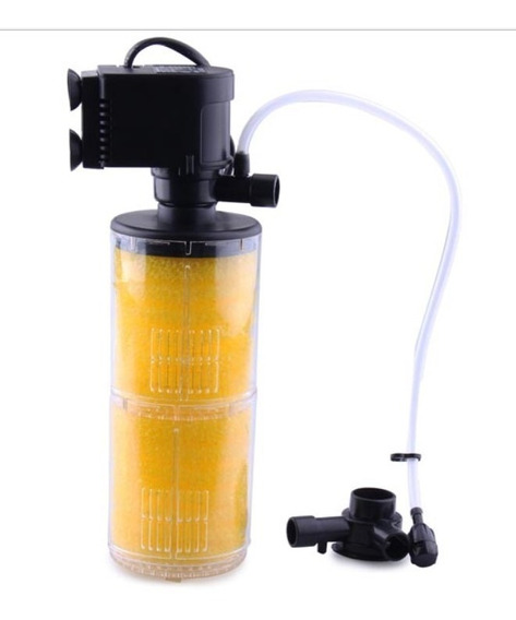 Filtro Bomba Submersa Sp 1300 2esponja 400l/h 110v Jad Tampa