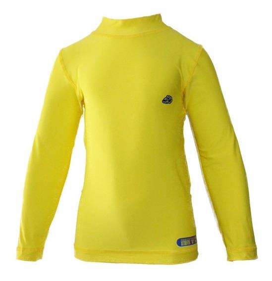 Kit 10 Camisas De Proteção Solar Uv Infantil Térmica Fps50