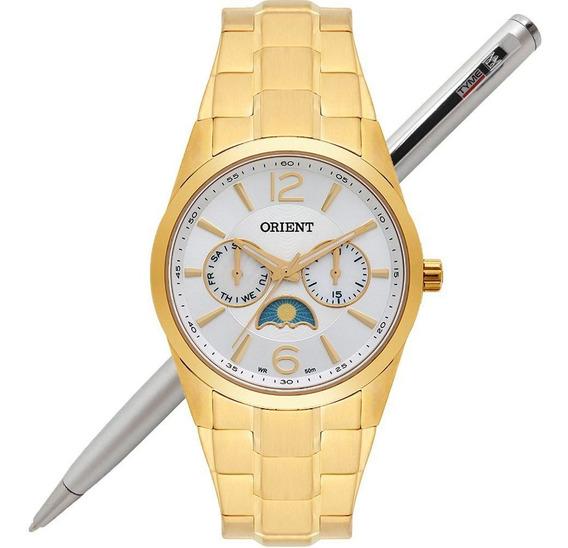Relógio Orient Feminino Multifunção Fgssm056 S2kx - C/ Nfe