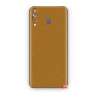 Skin Capa Adesiva Da 3m Ouro Escovado Samsung Galaxy A50