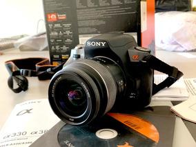 Câmera Sony A 380 Dslr - Oportunidade - Estado De Zero