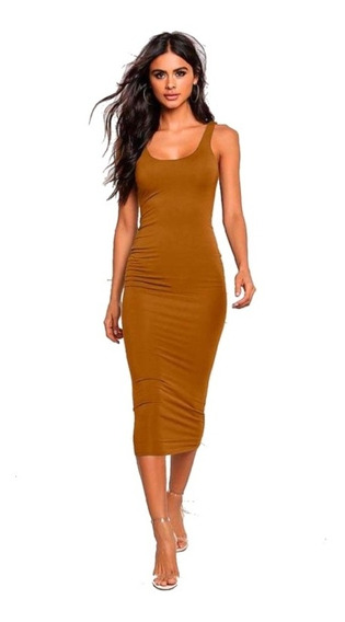 Vestido Sexy Kylie Halter Spandex Kardashian Halter Casual