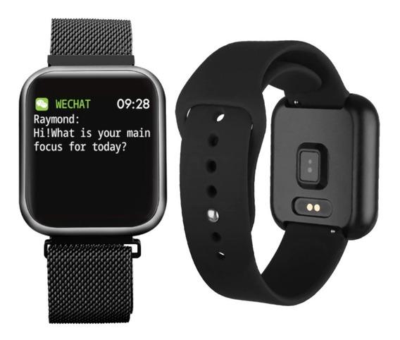 Smartwatch Relógio Inteligente Homens Mulheres Ios E Android