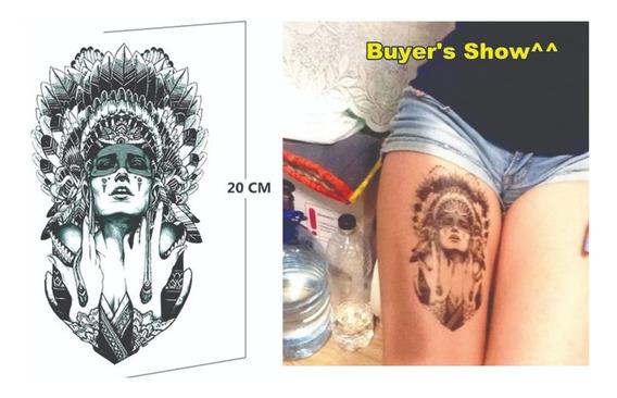 Tatuagem Temporária 22x12 Indio Pb