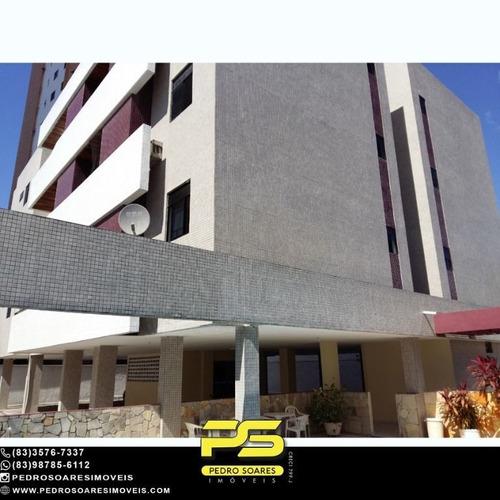 Imagem 1 de 14 de Apartamento Com 3 Dormitórios À Venda, 100 M² Por R$ 279.000 - Manaíra - João Pessoa/pb - Ap5403