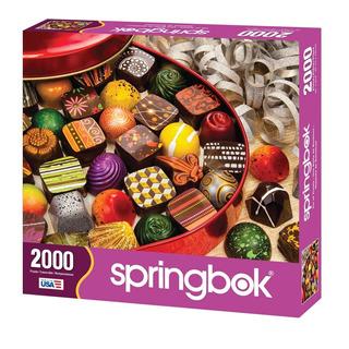 33-20498 Rompecabezas Springbok 2000 Pzs - Tin Of Treats