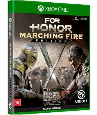 For Honor Marching Fire Edition Xbox One Mídia Física Novo