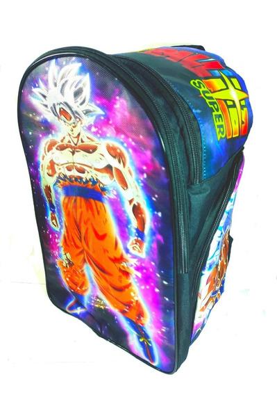 Dragon Ball Super Mochila Backpack Goku Egoista Ultima Fase