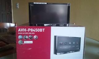 Reproductor Pantalla Dvd Pioneer Modelo Avh P8450bt Nuevo