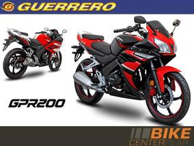 Guerrero Gpr 200 Anticipo $15000 + 12 Cuotas Fijas