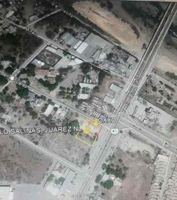 Terreno En Renta Sobre Ave Teofilo Salinas En Centro De Juarez,nl.