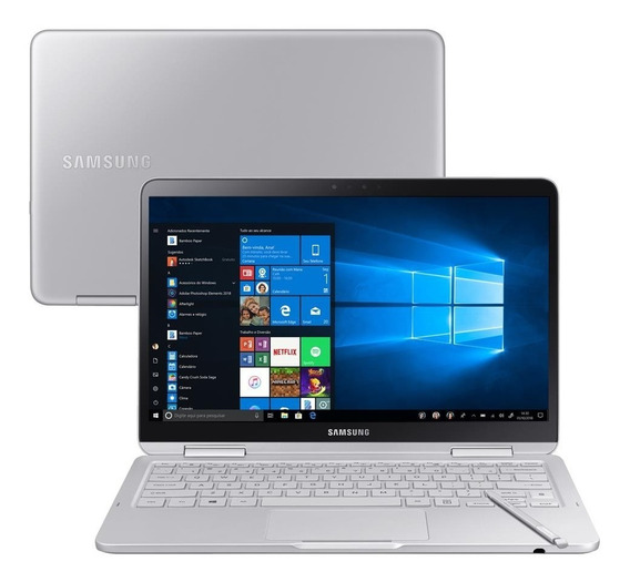 Notebook Samsung Style 256ssd 8gb Corei7 8ª Ger Touchscreen