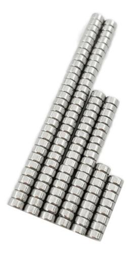 Imán De Neodimio 4 X 2 Mm (7 Unidades)