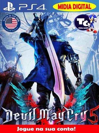 Devil May Cry 5 - Aluguel 16 Dias - Psn Usa - Pri - Ps4