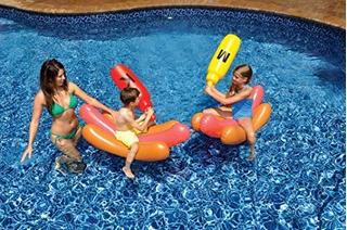 Swimline Hotdog Battle Ride On