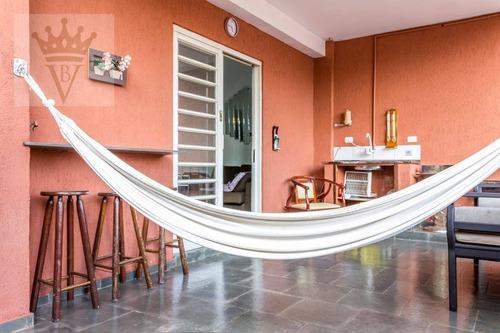 Casa Com 3 Suítes À Venda, 250 M² Por R$ 1.800.000 - Jardim Aeroporto - São Paulo/sp - Ca0246