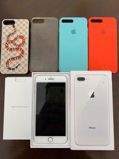 iPhone 8 Plus Completo En Caja 64gb