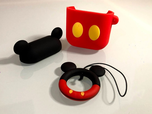 Funda Auriculares AirPods Bluetooth Protector Mickey Minnie