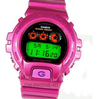 Reloj Casio G-shock Dw-6900nb Eminem 20 Bar Resiste Golpes