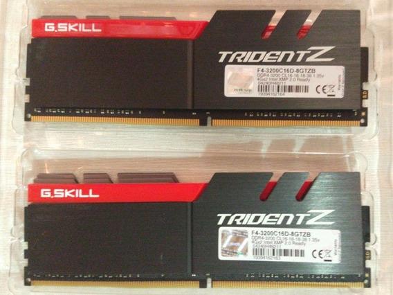 Memória G.skill 2x4 3200 Mhz Tridentz (8gb)