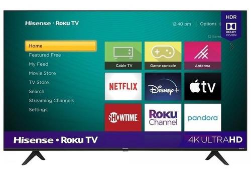 Televisor Hisense 50  4k Ultra Hd Smart Tv Roku Tv