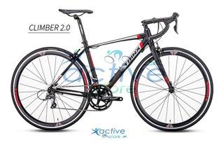 Bicicleta Ruta Trinx Climber 2.0 R28 Shimano Claris 16v Alum