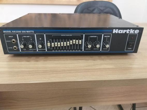 Cabecote Hartke Ha5500 (ñ Ampeg, Markbass, Meteoro)