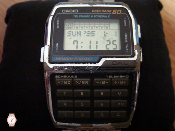 Raro Reloj Vintage Casio Dbc-800 De Coleccion.