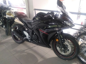 Yamaha R3 2018 0km - Negra - Mg Bikes!