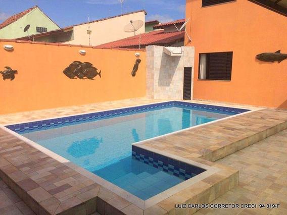 Casa Com 4 Dormitórios À Venda, 223 M² Por R$ 600.000,00 - Cibratel Ii - Itanhaém/sp - Ca0003