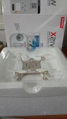 Dron Syma X21w + Cargador Con 5 Baterias