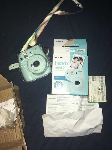 Câmera Instax 9 Fujifilm + Capa + Alça + 10 Filmes + Caixa